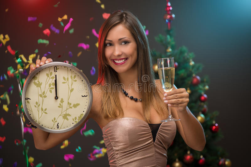 Download Happy New Year stock photo. Image of holding, year, beautiful - 62108654