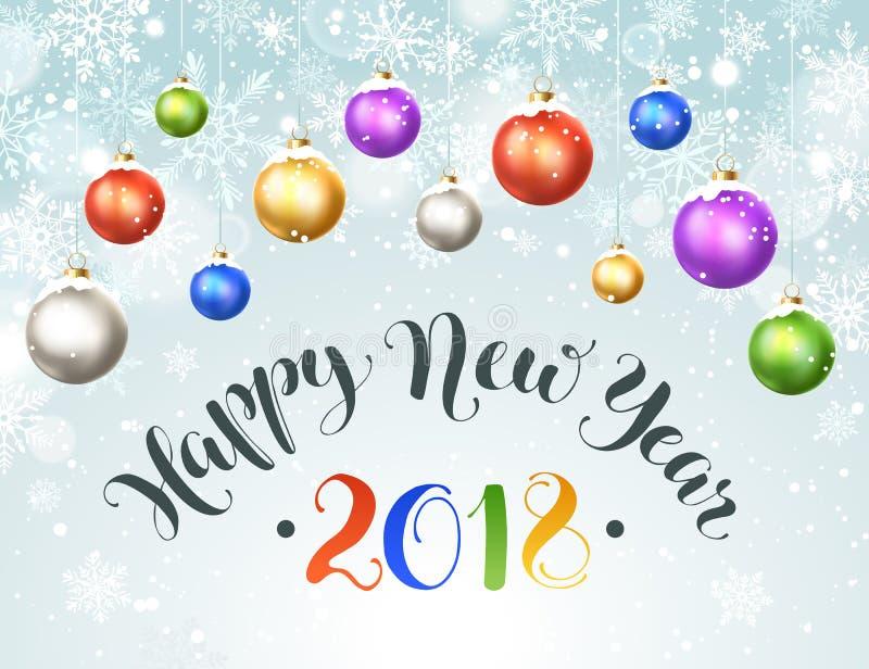 Happy new year stock vector. Illustration of happy, copyspace ...