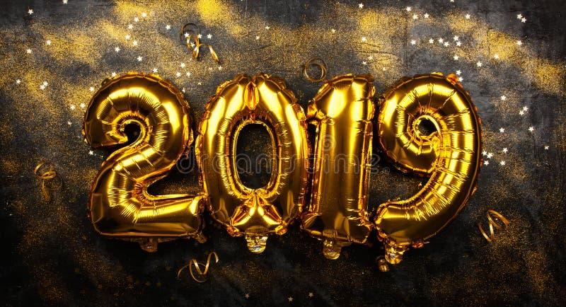 Happy New Year 2019 stock photos