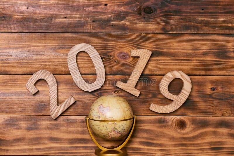 2019 Happy New Year. Holiday background stock photos