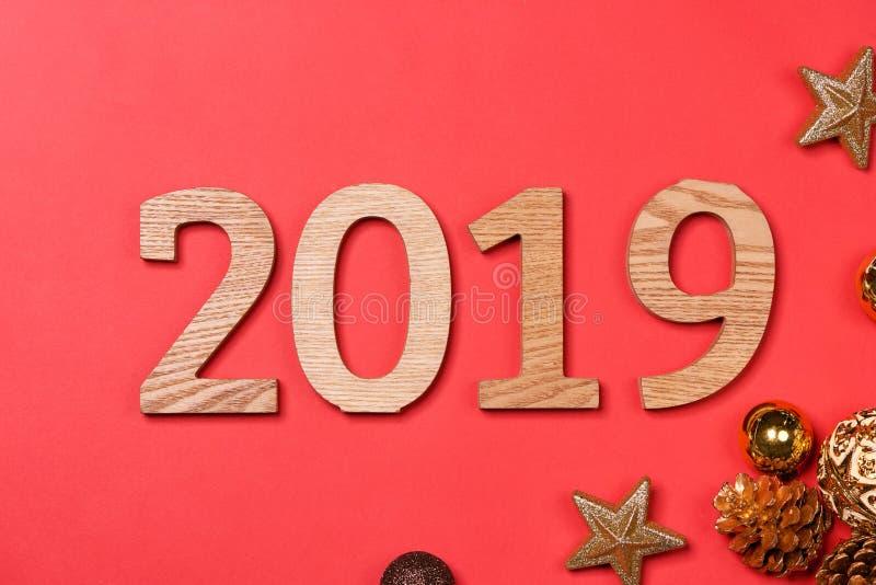 2019 Happy New Year. Holiday background royalty free stock photos