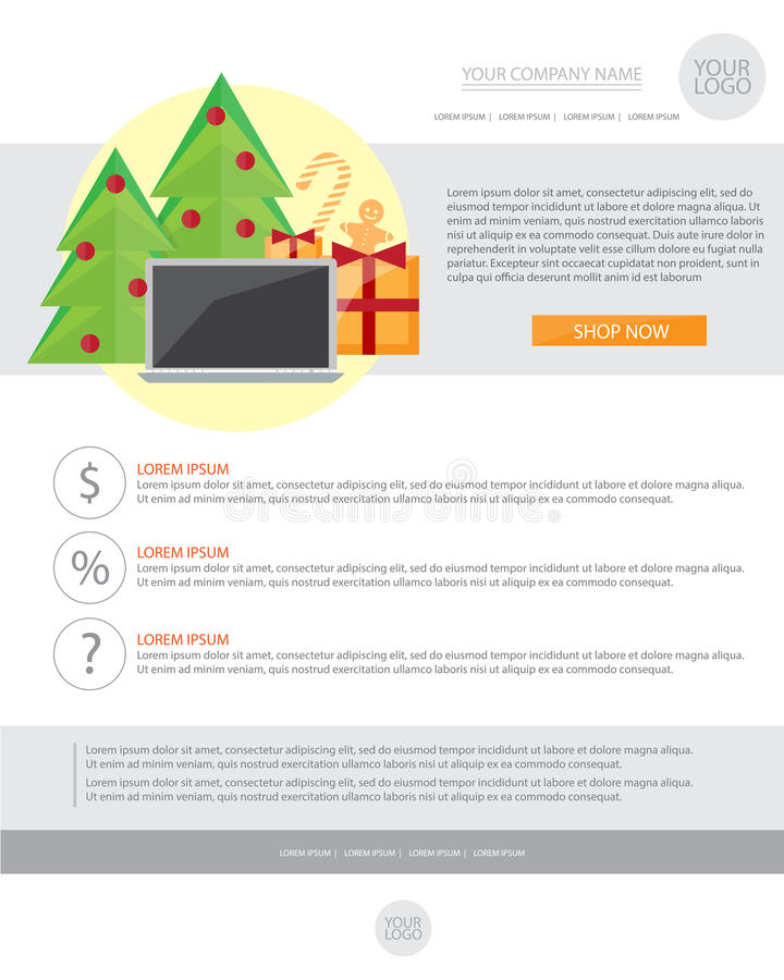 Holiday E Mail Template Idasponderresearchco