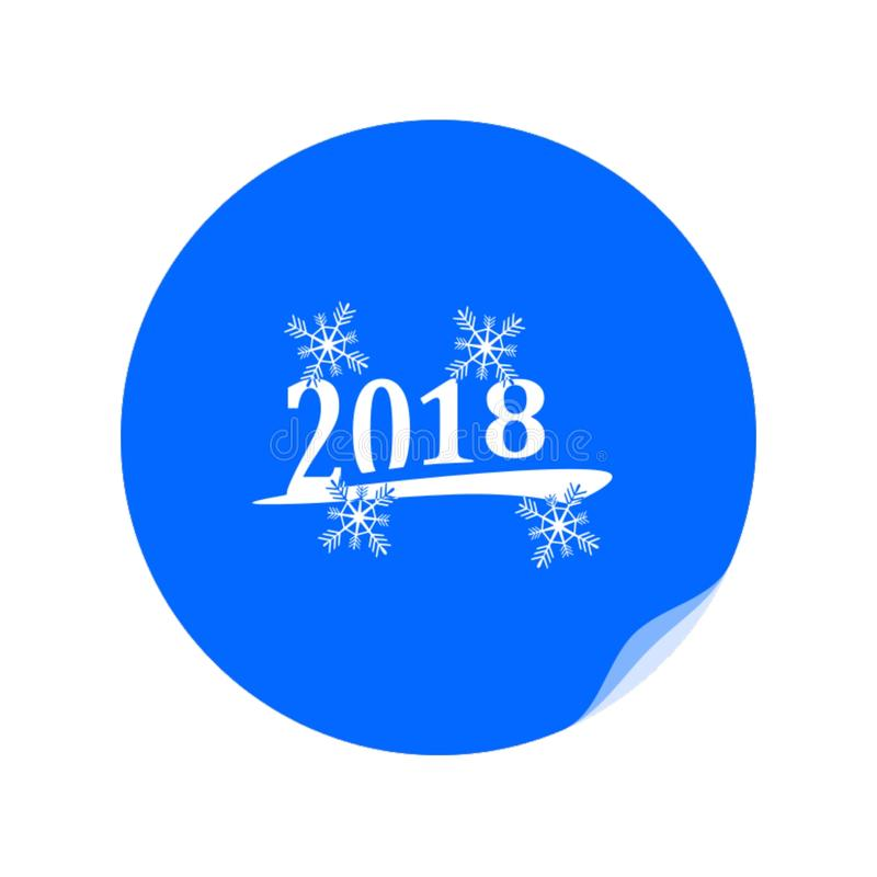Happy New Year icon,. Best vector illustration