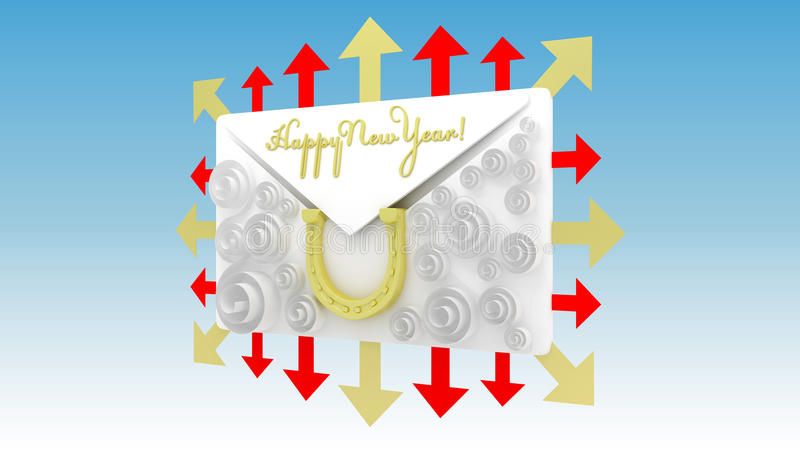 Download Happy New Year stock illustration. Illustration of events - 32615641