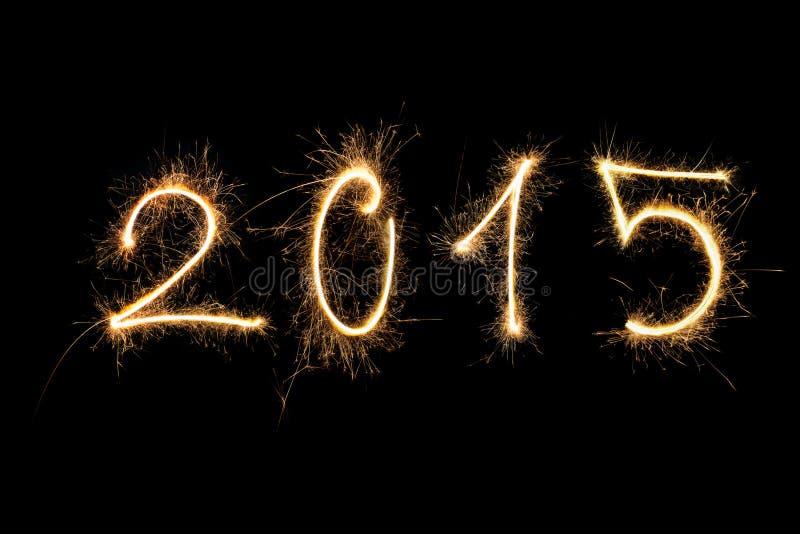 Happy New Year 2015. stock image