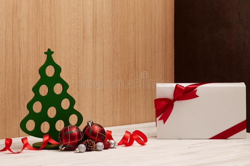 happy new year and Merry Christmas background royalty free stock image
