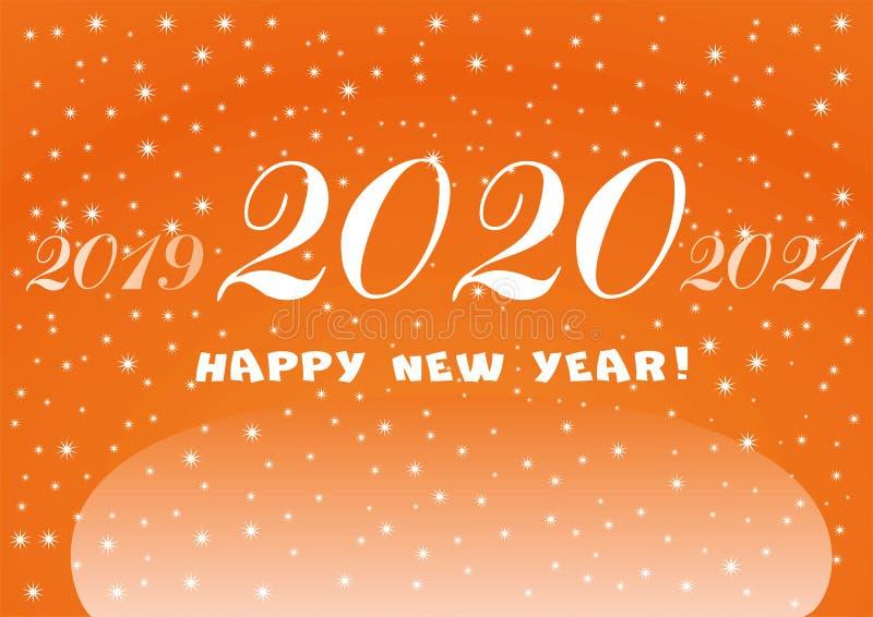 Happy New Year Orange 58
