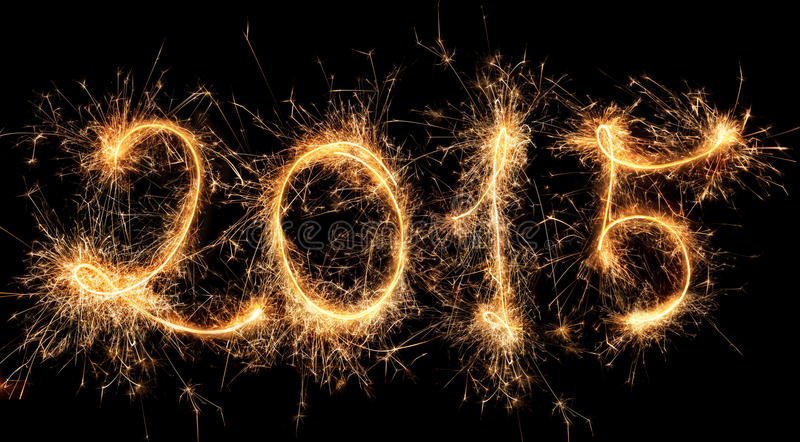 2015 - Happy New year royalty free stock image