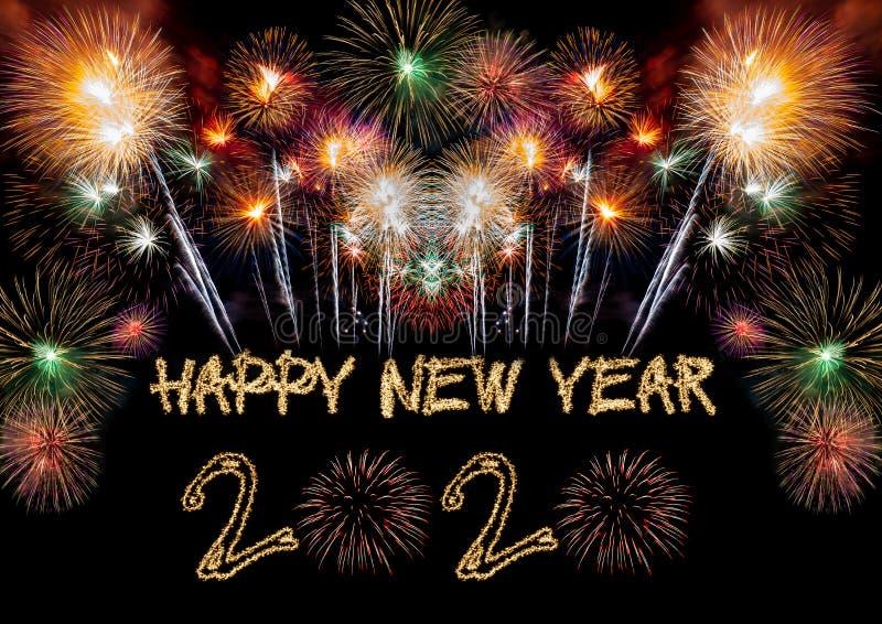 Happy New Year 2020 stock image
