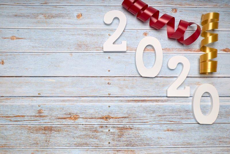 Happy New Year 2020 royalty free stock photos