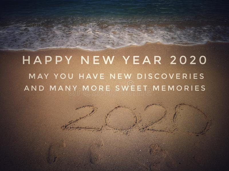 Happy New Year Beach Stock Photos Download 5 567 Royalty