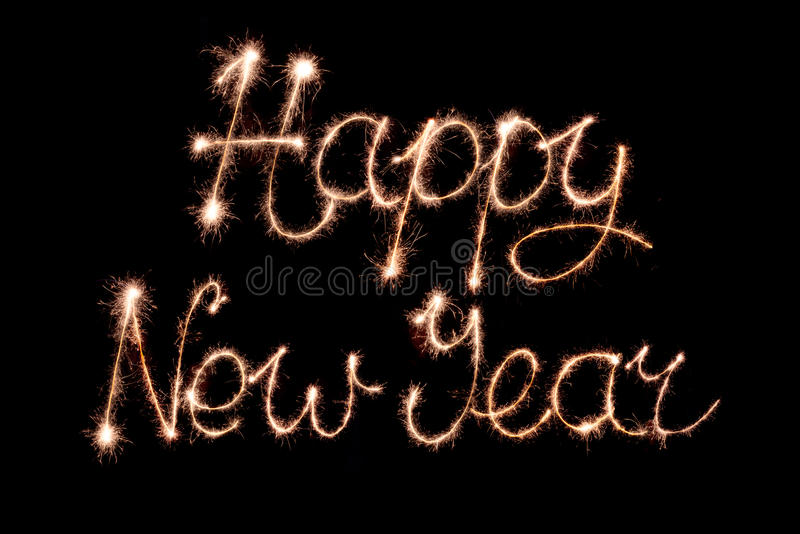 Download Happy new year stock image. Image of shiny, sign, display - 81229251