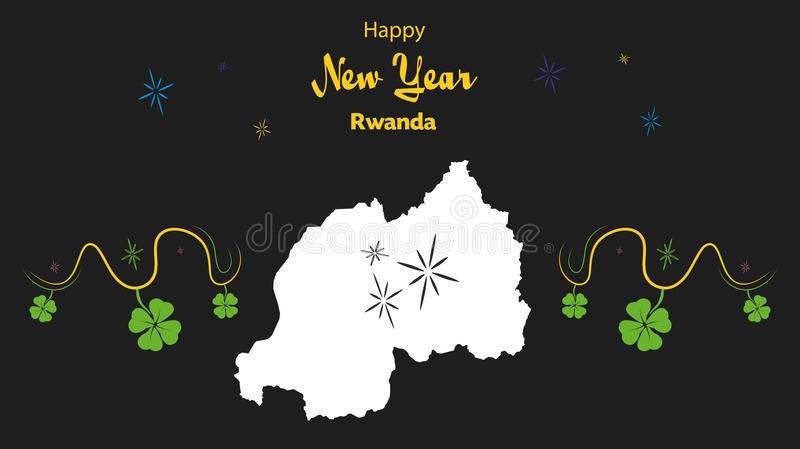 Happy new year theme with map of rwanda stock illustration download happy new year theme with map of rwanda stock illustration illustration of simple publicscrutiny Image collections
