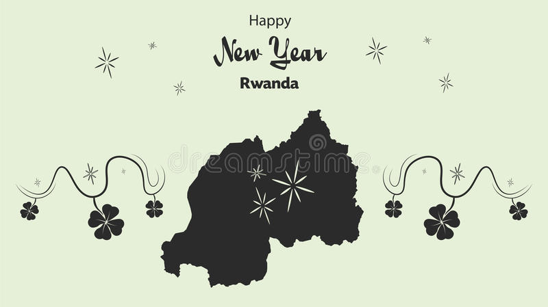 Happy new year theme with map of rwanda stock illustration download happy new year theme with map of rwanda stock illustration illustration of administrative publicscrutiny Image collections