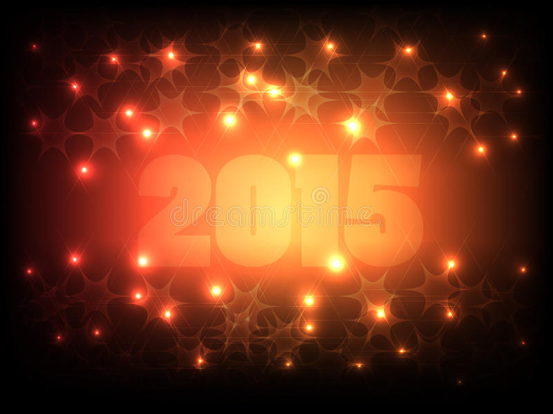 Happy New Year 2015_02 royalty free illustration