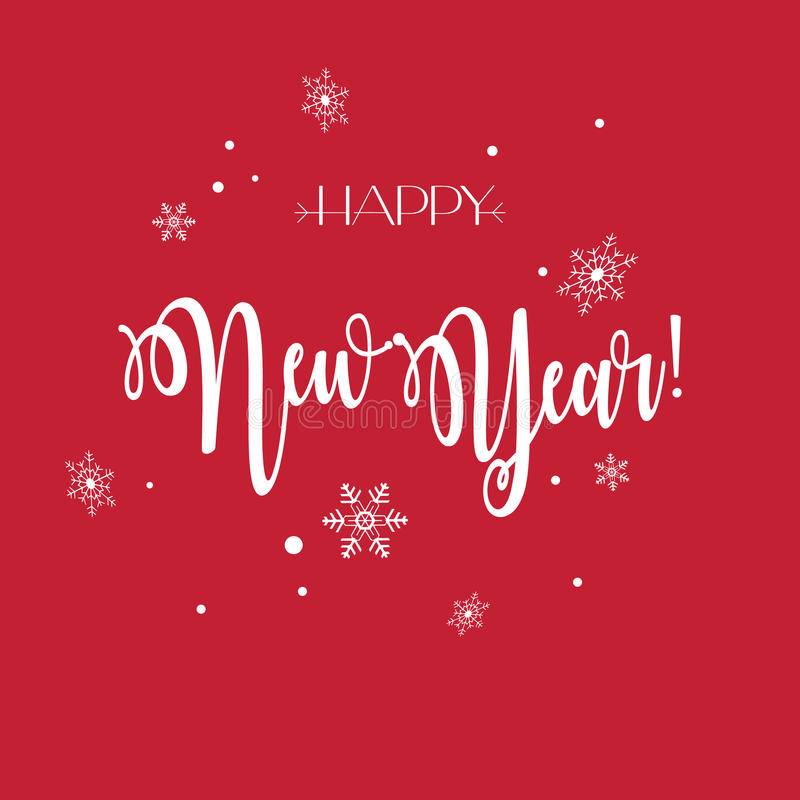 Download Happy New Year stock vector. Image of dvertising, frame - 83718915