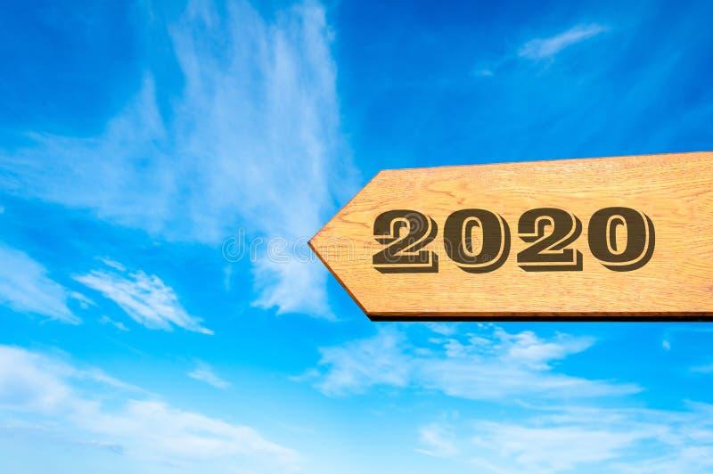 Happy New Year 2020 stock photography
