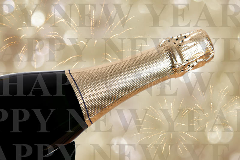 Happy new year. Written on background royalty free stock images