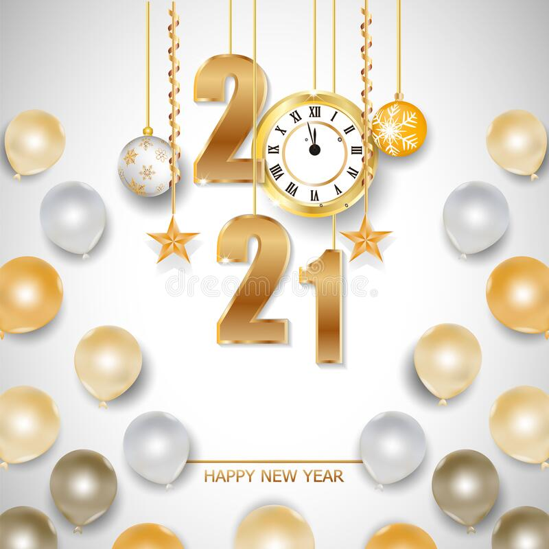 Cards Greeting Happy New Year Stock Illustrations – 32,466 ...