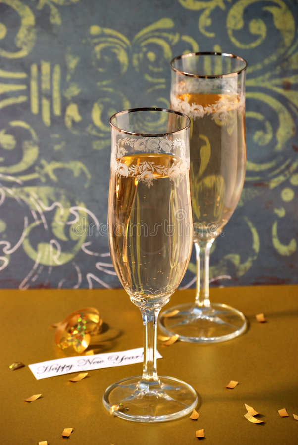 Happy new years stock image