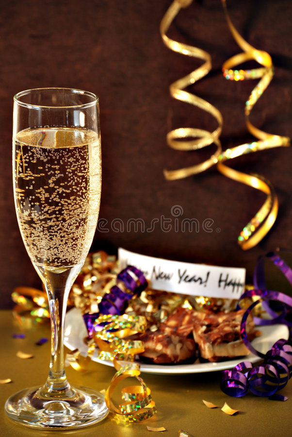 Happy new years stock image