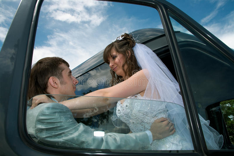 Download Happy newly-married couple stock image. Image of holiday - 14956323