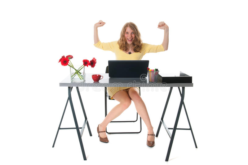 Download Happy at the office stock image. Image of caucasian, business - 34620881