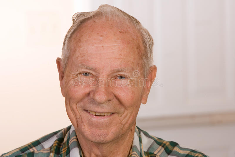Download Happy Old Man stock photo. Image of handsome, friendly - 13895442