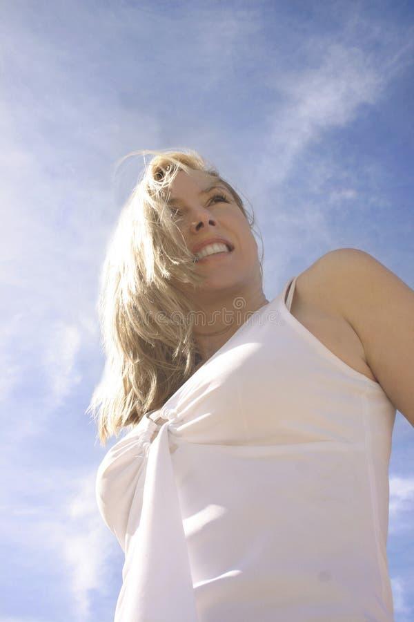 Happy Optimist royalty free stock photography