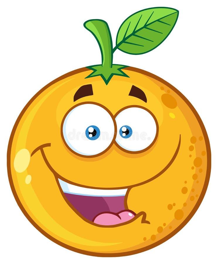 Free Happy Orange Fruit Cartoon Mascot Character Royalty Free Stock Photo - 182685465