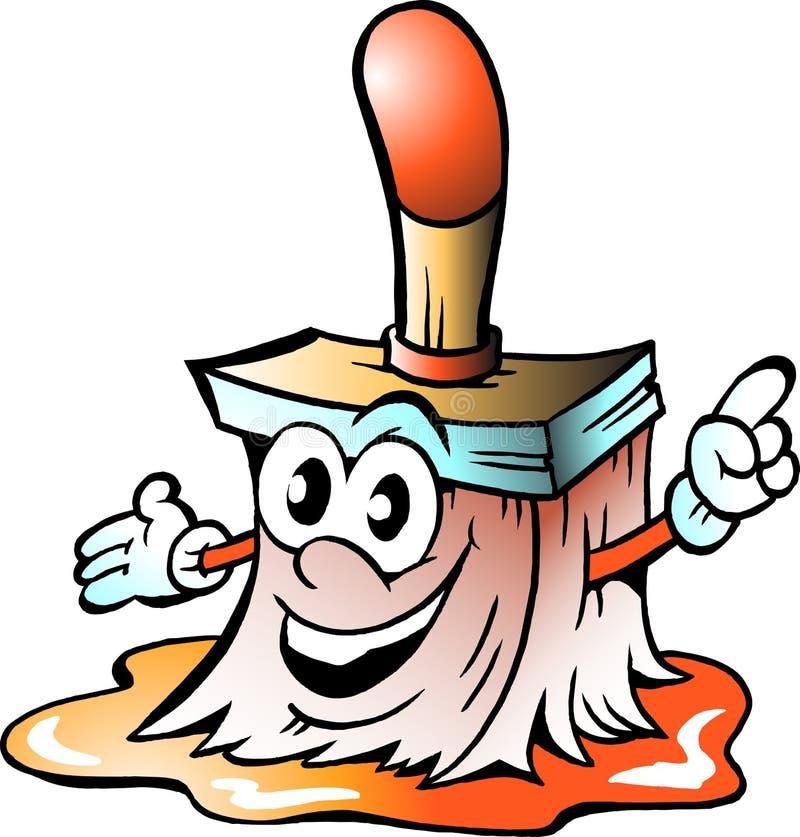 Download Happy Paint Brush stock vector. Illustration of paintbrush - 19837408