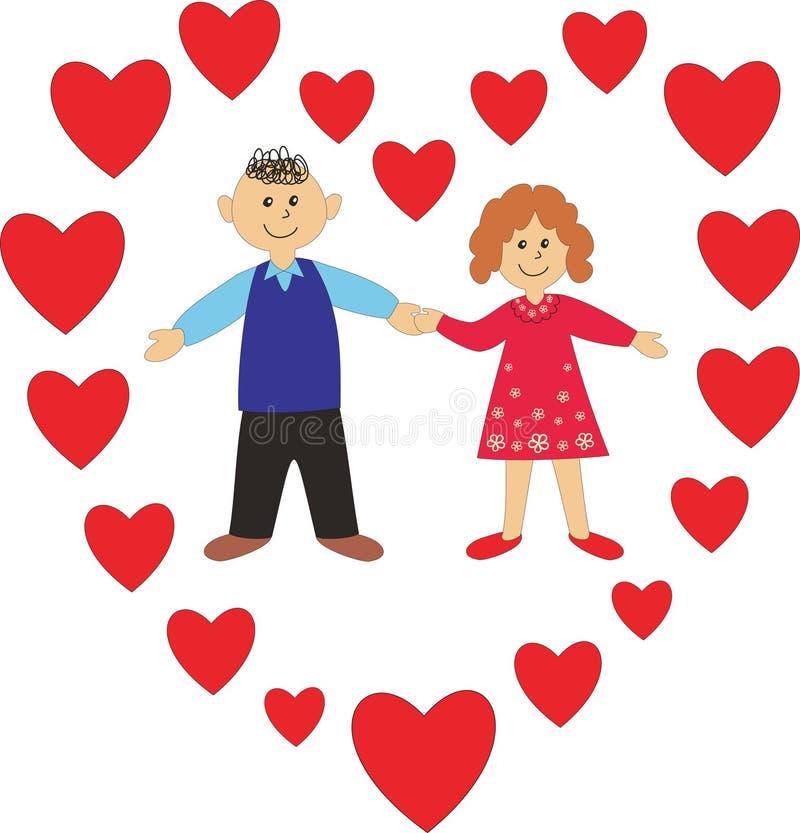 Download Happy people stock illustration. Illustration of illustration - 13195246