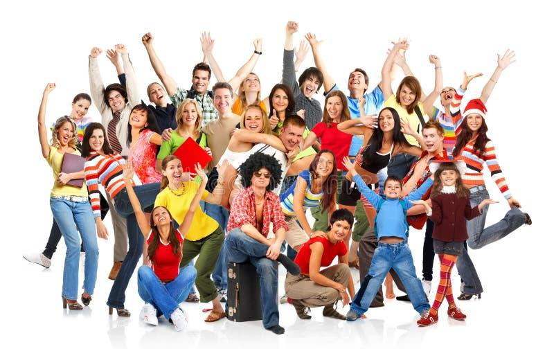 Download Happy people stock image. Image of euphoria, business - 7182033