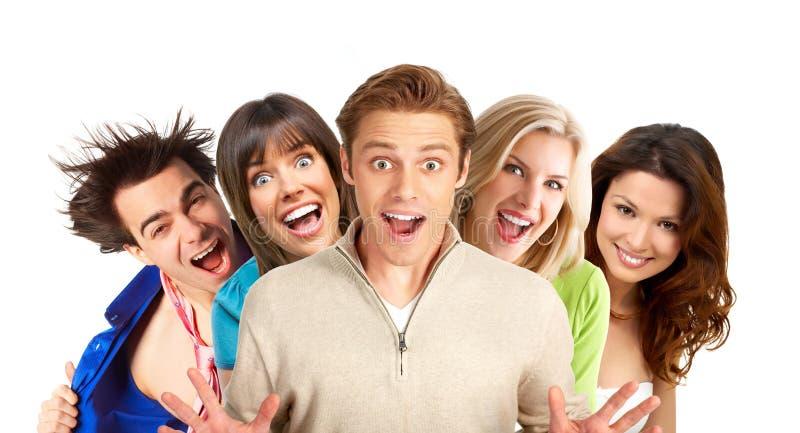 Happy people royalty free stock photo