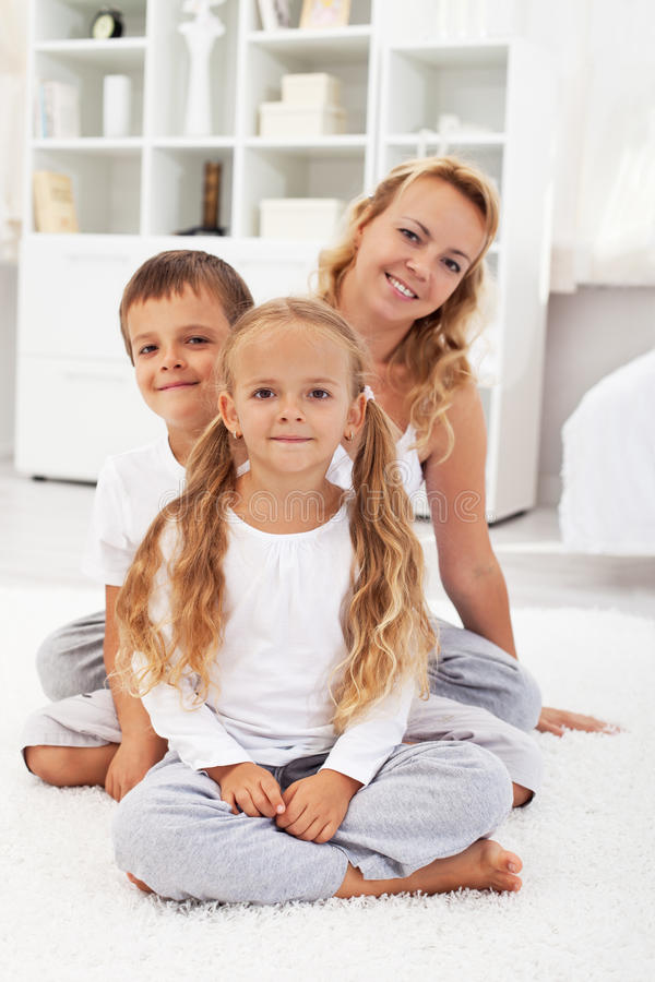 Download Happy people at home stock photo. Image of sibling, thirties - 21136512
