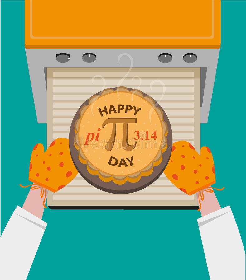 Download Happy Pi Day Concept Observed Every March 14. Editable Clip Art. Stock Vector - Illustration of fresh, celebration: 66316071