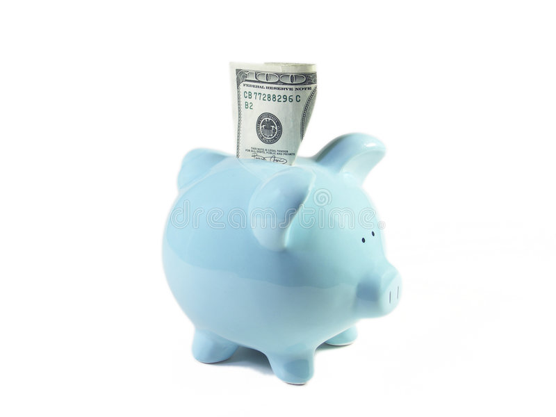 Download Happy Piggy Bank stock photo. Image of college, loan, rich - 321126