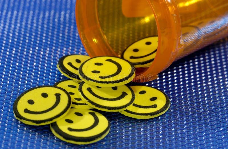 Happy Pills Free Stock Image