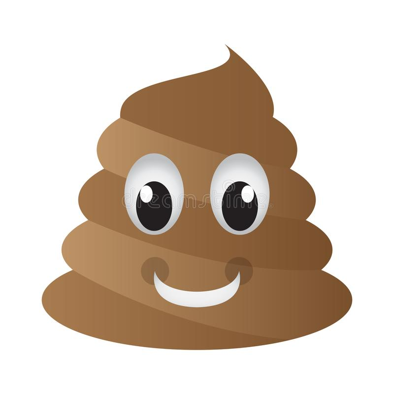 Happy Poop Emoji Stock Vector Illustration Of Chat 120188513