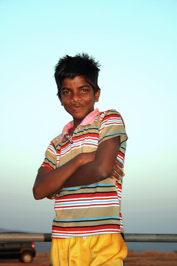 Download Happy Poor Boy stock image. Image of childhood, poor - 21317645