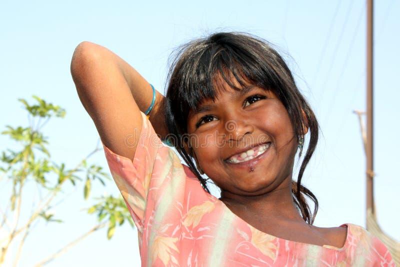 Download Happy Poor Girl stock image. Image of small, girls, poor - 9208323