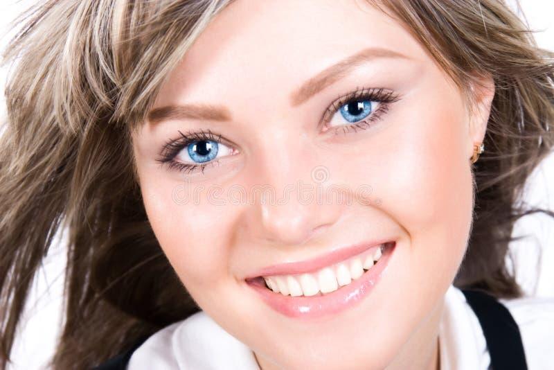 happy portrait woman young στοκ φωτογραφία με δικαίωμα ελεύθερης χρήσης