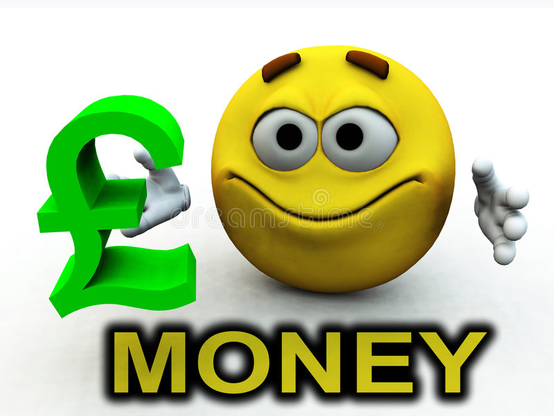 Download Happy Pound Guy 714 stock illustration. Illustration of face - 2829543