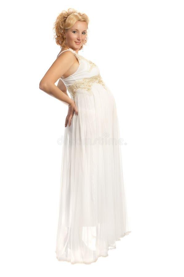 Happy pregnancy royalty free stock photo