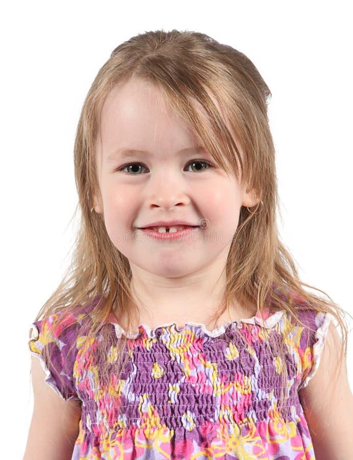 Happy Preschool Girl Stock Photo
