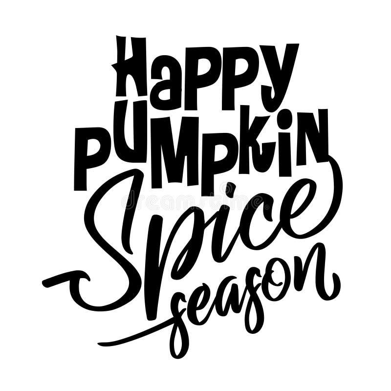 Free Happy Pumpkin Spice Season Royalty Free Stock Images - 127368589
