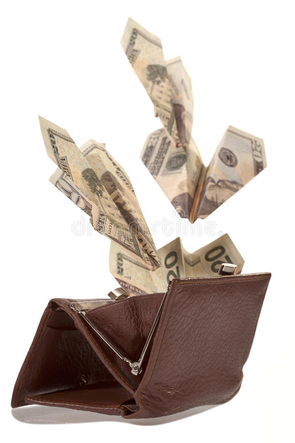 Happy purse stock images