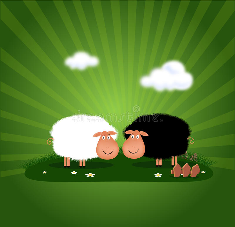Download Happy ram stock illustration. Image of cloud, sheep, horoscopes - 23441898