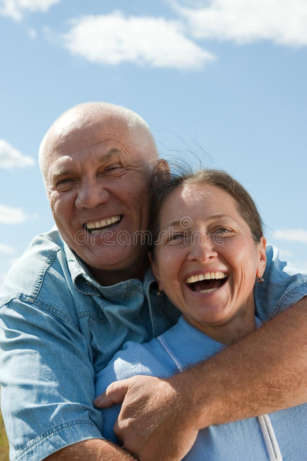 Free Happy Retired Couple Stock Photo - 16214350