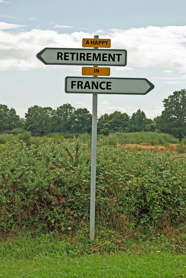 Download A Happy Retirement In France Stock Image - Image of french, retirement: 6096129